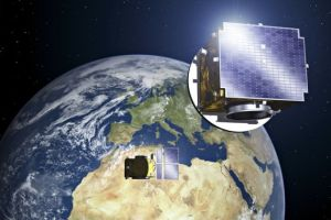 Formation-flying satellites link up to create giant virtual telescope in orbit