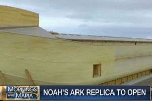 Colossal Noah's Ark Comes to Life in Kentucky