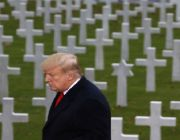 Trump Praises American, French WWI Soldiers