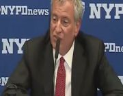 De Blasio lets security haul away Post reporter for asking question