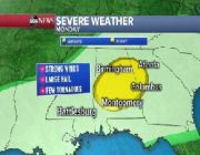 Severe weather heading east as record flooding continues