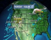 Major storm developing in the West with heavy snow, flooding rain