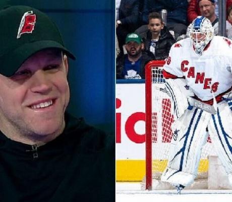 Zamboni driver fills in as emergency NHL goalie, helps team win