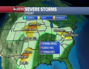 Severe weather expected throughout Plains over the weekend