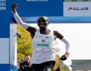 Kenyan Eliud Kipchoge sets new marathon world record in Berlin