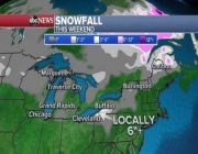 Lake effect snow, cold blast moves in Midwest, Northeast over weekend