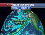 Atmospheric river brings record rains, snow to California