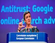Europe hits Google with a third, $1.7 billion antitrust fine