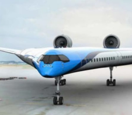 Futuristic 'Flying-V' airplane makes successful maiden flight