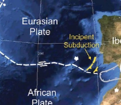 A Tectonic Plate May Have Split Apart Off Portugal's Coast