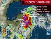 Tropical Storm Michael forms, forecast to hit Gulf Coast as a hurricane this week
