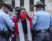 Police Arrest Georgia Lawmaker As Governor Signs Law Overhauling Elections