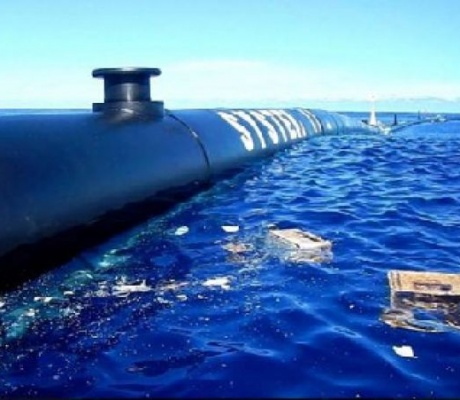 The Great Pacific Garbage Patch covers a million square miles. A 24-year-old dropout is trying to clean it up