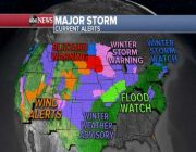 Storm with heavy snow, strong winds slams Midwest today, Northeast tomorrow