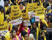 Trump touts conservative goal of school choice amid reopening