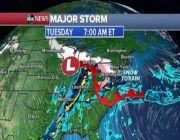 Major winter storm blasting Midwest, East as Seattle sees 4th snowstorm in week