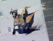 F-16 crashes into building near runway at March Reserve Air Force Base in Southern California
