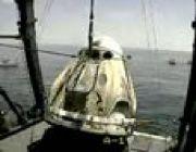 NASA Astronauts Splash Down Aboard SpaceX Capsule