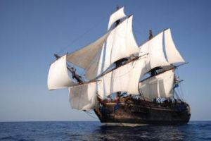Replica 18th-century ship to sail remarkable old trading route