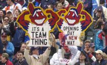 "Indians owner says Chief Wahoo issue will be resolved ""within a couple of years"""