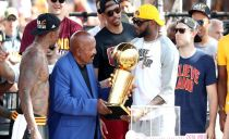 Crowd of 1.3 million celebrates Cavs title at downtown parade