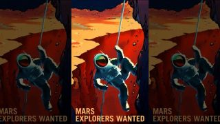 Mars wants you! Retro posters invite red planet explorers