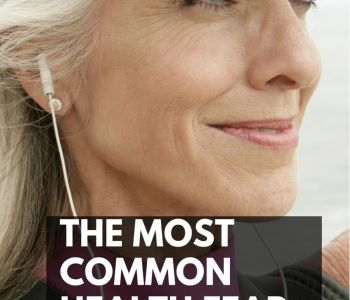 The Biggest Health Fear Women Have In Their 60s